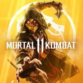 Clique na imagem para uma versão maior  Nome:         270px-Mortal_Kombat_11_capa.jpg Visualizações:269 Tamanho: 25,7 KB ID:      44802